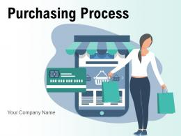 Purchasing Process Flowchart Identifying Sourcing Management Arrow Gear Acceptance Payment