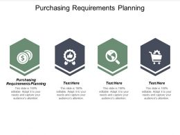 Purchasing Requirements Planning Ppt Powerpoint Presentation Icon Aids Cpb