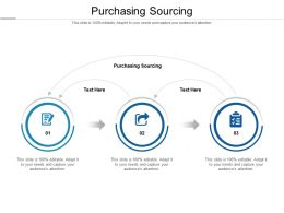 Purchasing Sourcing Ppt Powerpoint Presentation Infographics Tips Cpb