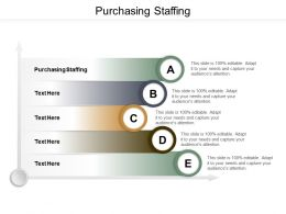 Purchasing Staffing Ppt Powerpoint Presentation Ideas Graphics Cpb