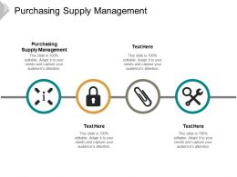 Purchasing Supply Management Ppt Powerpoint Presentation Inspiration Backgrounds Cpb