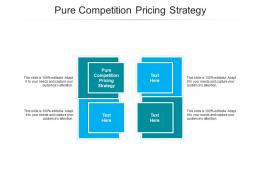 Pure Competition Pricing Strategy Ppt Powerpoint Presentation Layouts Clipart Cpb