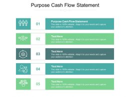 Purpose Cash Flow Statement Ppt Powerpoint Presentation Infographic Template Maker Cpb