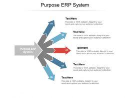 Purpose ERP System Ppt Powerpoint Presentation Styles Portfolio Cpb
