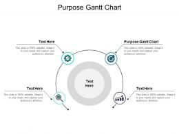 Purpose Gantt Chart Ppt Powerpoint Presentation Styles Example Cpb