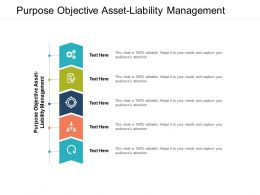 Purpose Objective Asset Liability Management Ppt Powerpoint Presentation Styles Skills Cpb