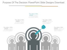 Purpose Of The Decision Powerpoint Slide Designs Download
