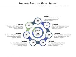 Purpose Purchase Order System Ppt Powerpoint Presentation Outline Samples Cpb