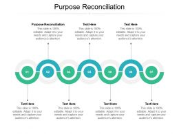 Purpose Reconciliation Ppt Powerpoint Presentation Infographics Vector Cpb