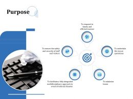 Purpose Security Ppt Powerpoint Presentationmodel Brochure
