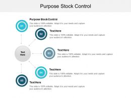 Purpose Stock Control Ppt Powerpoint Presentation Icon Portrait Cpb