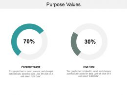 Purpose Values Ppt Powerpoint Presentation File Information Cpb