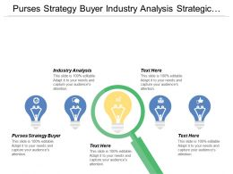 Purses Strategy Buyer Industry Analysis Strategic Option Generation