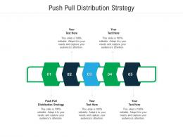 Push Pull Distribution Strategy Ppt Powerpoint Presentation Professional Mockup Cpb