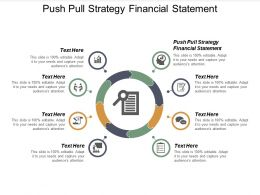 Push Pull Strategy Financial Statement Ppt Powerpoint Presentation Infographics Cpb