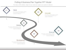 Putting A Business Plan Together Ppt Model