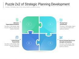 Puzzle 2x2 Of Strategic Planning Development