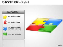 Puzzle 2x2 Style 2 PPT 1