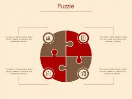 Puzzle Agenda And Checklist Ppt Powerpoint Presentation File Example Introduction