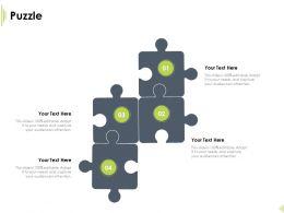 Puzzle Audiences Attention Marketing Ppt Powerpoint Presentation Slides