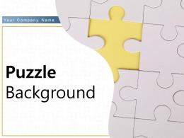 Puzzle Background Business Strategic Teamwork Support