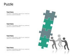 Puzzle Business Porblem Ppt Powerpoint Presentation Pictures Tips