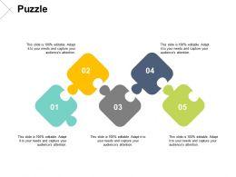 Puzzle Business Problem Solving F153 Ppt Powerpoint Presentation Portfolio Infographics