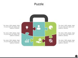 Puzzle Business Problem Solving F702 Ppt Powerpoint Presentation Icon Vector