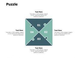 Puzzle Business Problem Solving F796 Ppt Powerpoint Presentation Portfolio Grid