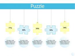 Puzzle Business Problem Solving K296 Ppt Powerpoint Presentation File Show