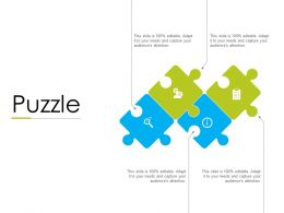 Puzzle Business Problems F809 Ppt Powerpoint Presentation Portfolio Icon