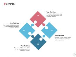 Puzzle Business Solution K64 Ppt Powerpoint Presentation Images