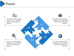 Puzzle Business Strategy Ppt File Background Images