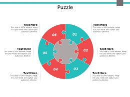 Puzzle Circular F689 Ppt Powerpoint Presentation Infographic Template Backgrounds