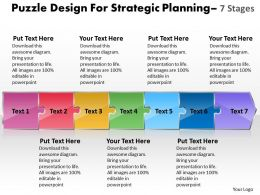puzzle_design_for_strategic_planning_7_stages_wire_schematic_powerpoint_templates_Slide01