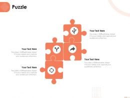 Puzzle Editable Capture Ppt Powerpoint Presentation Visual Aids Infographic Template
