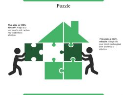 Puzzle Example Of Ppt Presentation