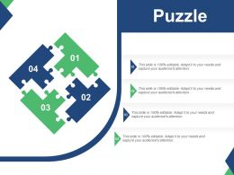 Puzzle For Project Study Management Ppt Summary Slide