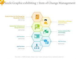 Puzzle Graphic Exhibiting 7 Item Of Change Management