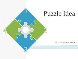 Puzzle Idea Innovation Process Businesses Infrastructure Framework