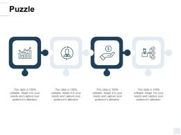 Puzzle Opportunity A138 Ppt Powerpoint Presentation Icon Samples