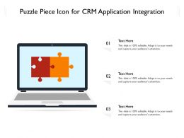 Puzzle Piece Icon For CRM Application Integration