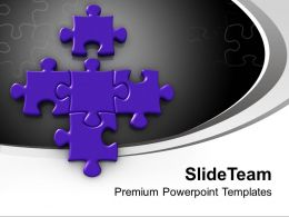 Puzzle Piece New Partner Concept Powerpoint Templates PPT Backgrounds For Slides 0213