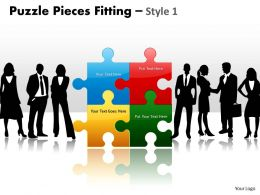 Puzzle Pieces Fitting Style 1 PPT 7