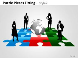 Puzzle Pieces Fitting Style 2 8