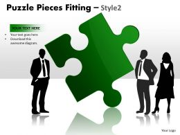 Puzzle Pieces Fitting Style 2