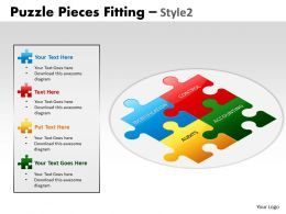 Puzzle Pieces Fitting Style 2 PPT 5