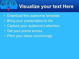 puzzle_pieces_for_powerpoint_templates_breaking_through_maze_arrows_diagram_ppt_presentation_Slide03