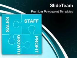 Puzzle Pieces For Powerpoint Templates Business Marketing Ppt Themes