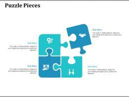 Puzzle Pieces Ppt Visual Aids Background Images